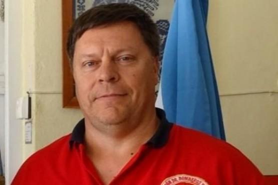 Grazzini recibió a representantes de la Federación Chubutense de Bomberos Voluntarios