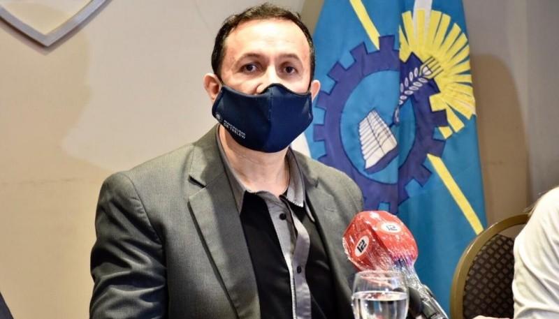 El intendente Adrián Maderna.