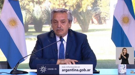 Alberto Fernández extendió el aislamiento social