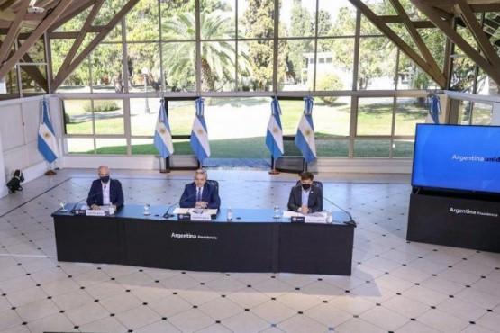 El Presidente anunció la extensión del aislamiento social hasta el 30 de agosto