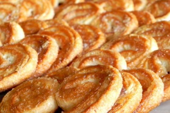 Cómo hacer palmeritas con masa de empanadas