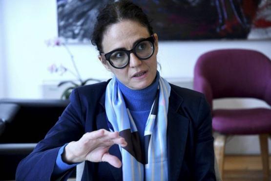 La vicejefa de Gabinete, Cecilia Todesca Bocco. Foto Télam