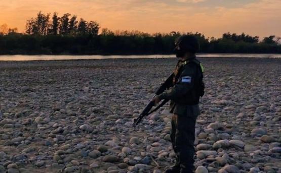 Coronavirus: reforzaron los controles de la Gendarmería en zonas fronterizas