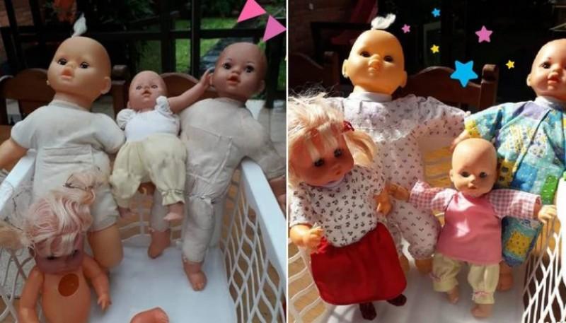 """""""Hospital de juguetes"""": el proyecto solidario de una madre que perdió a su hija"""
