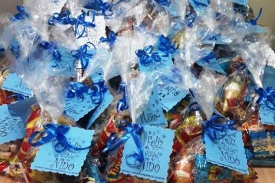Entregaron regalos a los hijos de los efectivos policiales de El Calafate