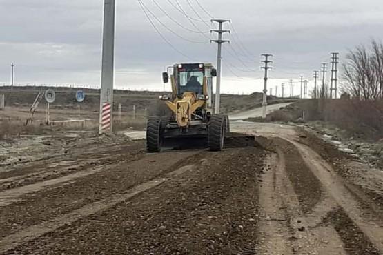 10 Acciones: Municipio trabaja para mejorar la transitabilidad de la calle 22