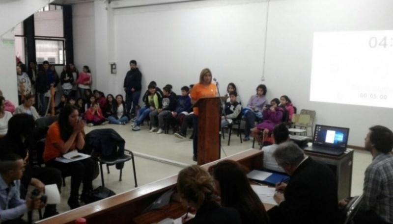 Audiencia en el Concejo Deliberante.