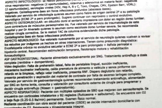Las otras dos causas por supuesta mala praxis que se suman contra el Hospital de Las Heras