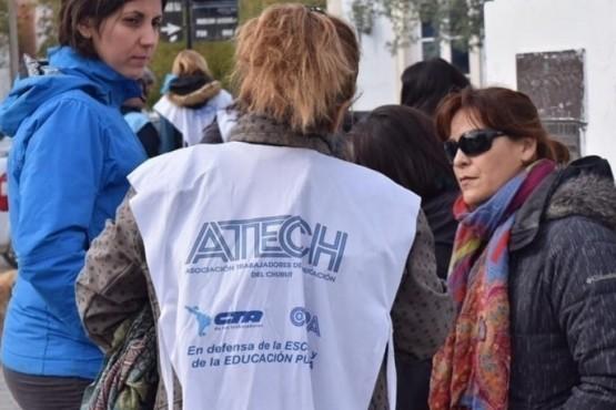 La Asociación de Trabajadores de la Educación continúa de paro