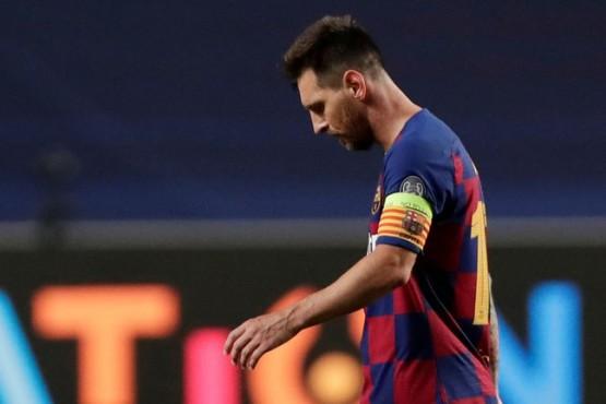 En la cabeza de Lionel Messi ronda la idea de cambiar de institución (Manu Fernandez/Pool via REUTERS)