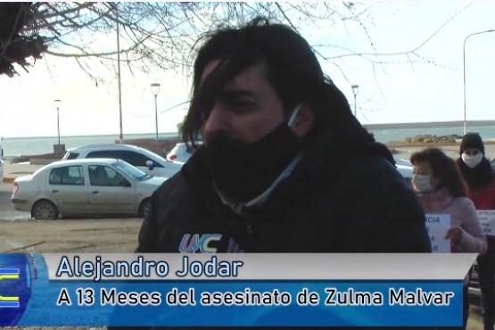 Alejandro Jodar, hijo de Zulma Malvar, pide justicia y celeridad en la causa.