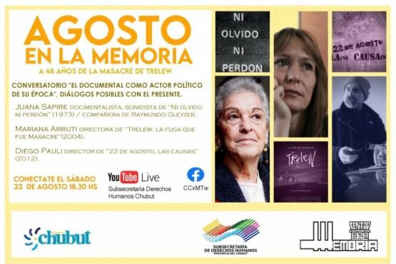 Actividades conmemorativas virtuales a 48 años de la Masacre de Trelew