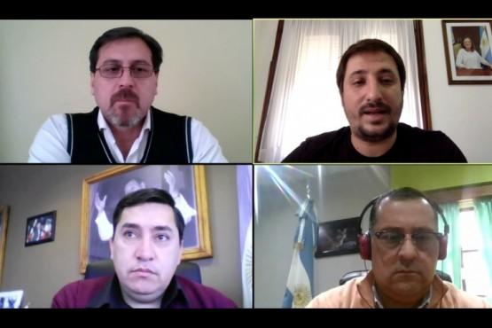 Intendentes dialogaron sobre la situación de sus localidades con el Gobierno provincial