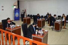 Con protocolo sanitario volvieron a sesionar los concejales