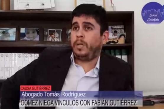 Representante legal de la familia Gómez, Tomás Rodríguez.