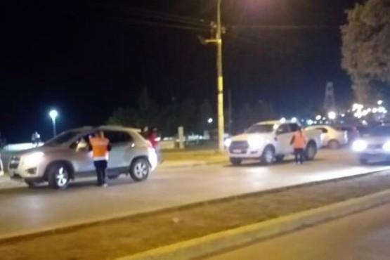 Tránsito en la Costanera: 92 actas y un choque entre dos camionetas