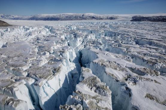Groenlandia registró en 2019 una pérdida de su capa de hielo de 1 tonelada por minuto