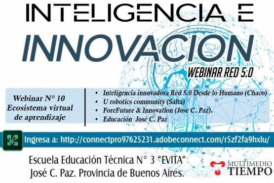 Continúa inteligencia e innovación webinar 5.0