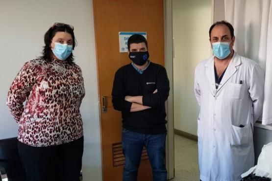 SS Servicios donó material de uso médico al HRRG