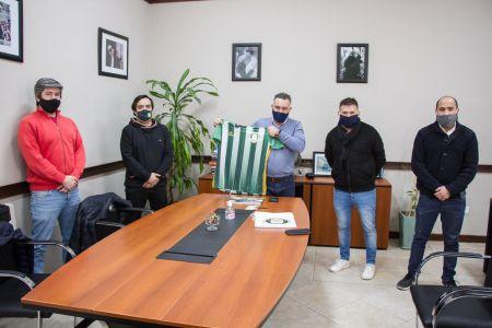 Gobiernorecibió a dirigentes del Boxing Club a días de su centenario