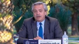 """Alberto Fernández: """"Vamos a dar batalla contra la inseguridad"""""""