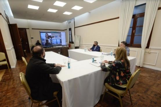 Alicia participó de la inauguración de la delegación del Ministerio de Trabajo en Caleta Olivia