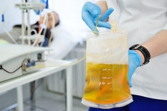 La donación de plasma permitió la recuperación de enfermos por COVID-19.