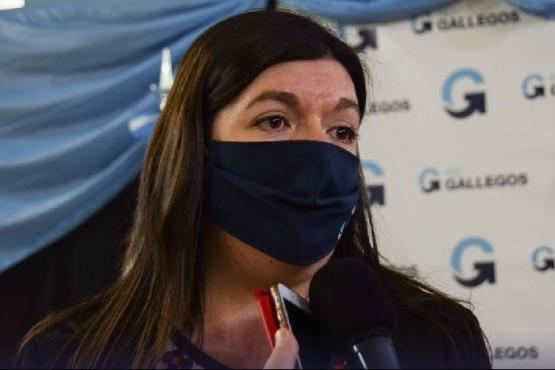 Julia Chalub, responsable del área de niñez municipal.