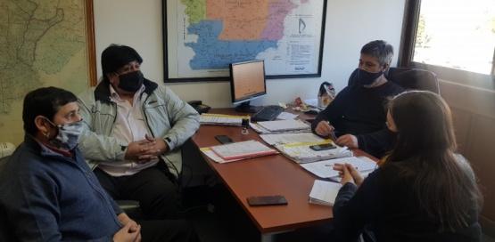 Intendentes del interior realizaron gestiones en el Ministerio de Infraestructura