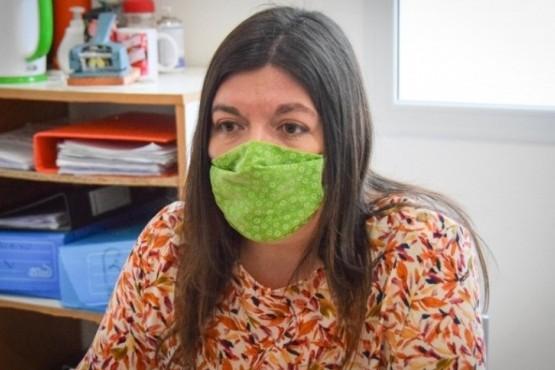 Julia Chalub, titular del área.