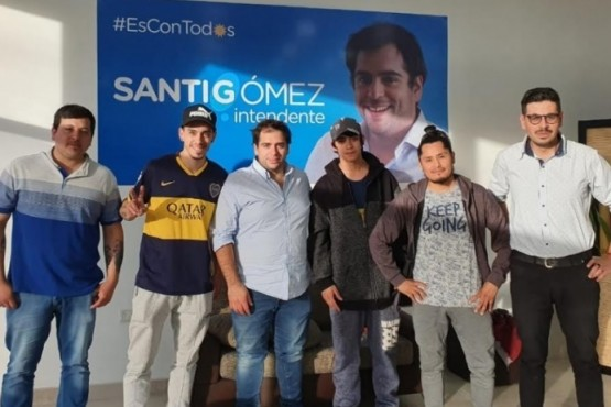 Santiago Gómez, el que se fue antes, y Prades, el que trabajaría con Máximo Kirchner