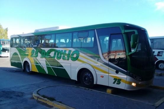 Empresas de transporte suspenden servicio