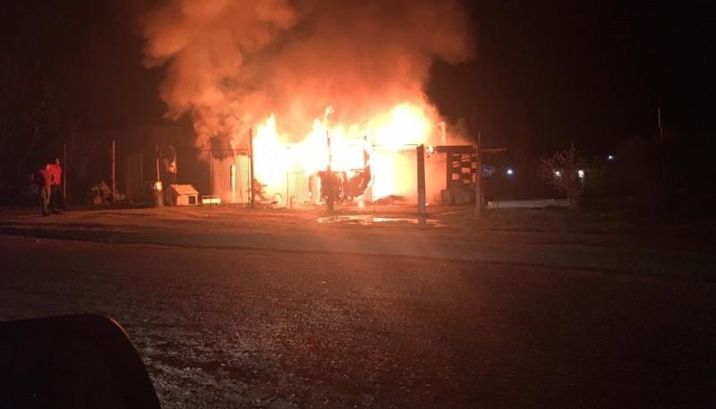 Cuartel de bomberos Laprida reclaman elementos para poder trabajar