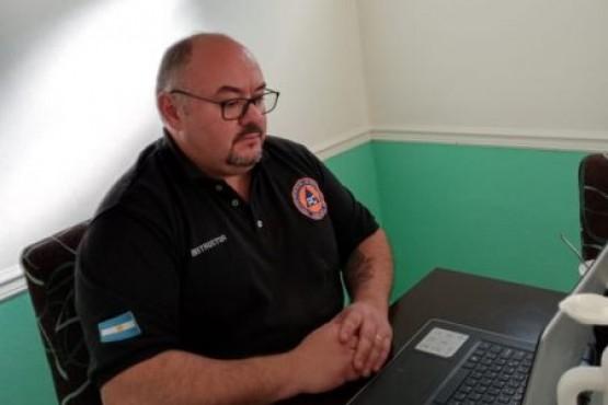 Santa Cruz participó en el Consejo Federal de Gestión del Riesgo y Protección Civil