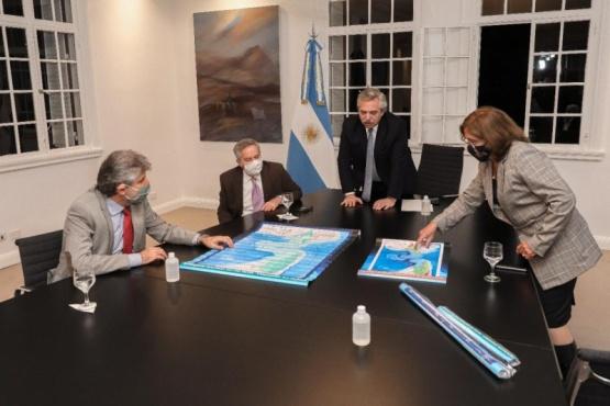 El Presidente destacó el trabajo de las áreas del Gobierno que confeccionaron las leyes de Espacios Marítimos