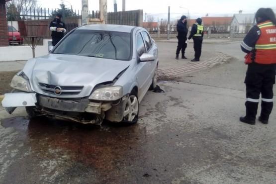 Así quedó el Chevrolet Astra (Foto: C.Robledo).