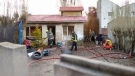 Se incendió una vivienda en el barrio Belgrano