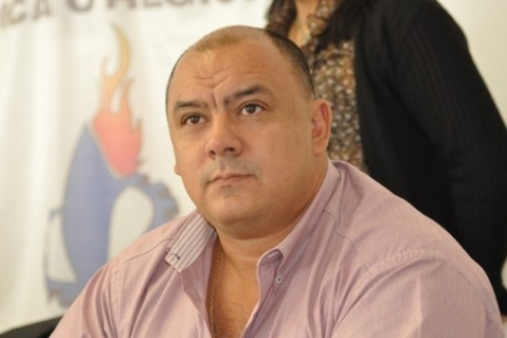 Rubén Aguilera, secretario general de UTA