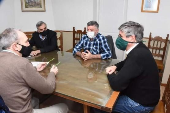 El intendente de Esquel recibió al ministro Puratich