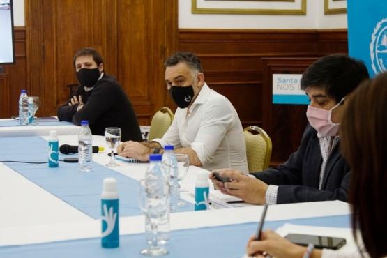 Reunión del COE Provincial con participación de los tres poderes y fuerzas de seguridad