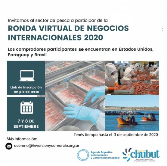 """Gobierno invita a la """"Ronda de negocios virtual e internacional de Pesca"""""""