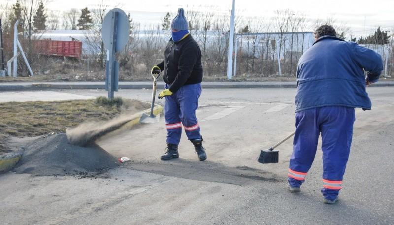 Municipalidad continúa con la puesta en valor de las principales avenidas