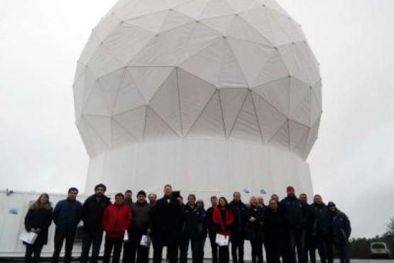 El satélite argentino Saocom 1B tomó contacto con Tolhuin