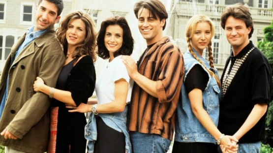 Protagonistas de Friends.