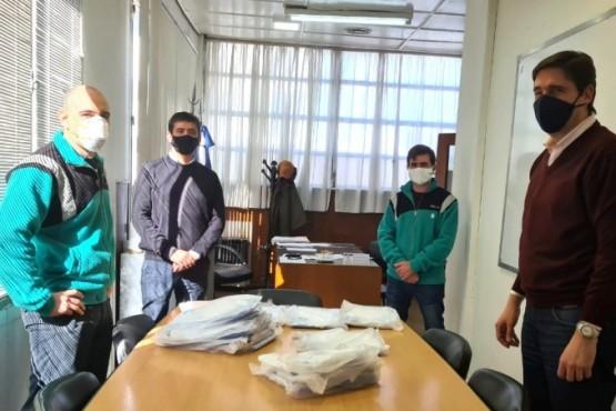 YPF EE donó 200 kits de bioseguridad al Municipio