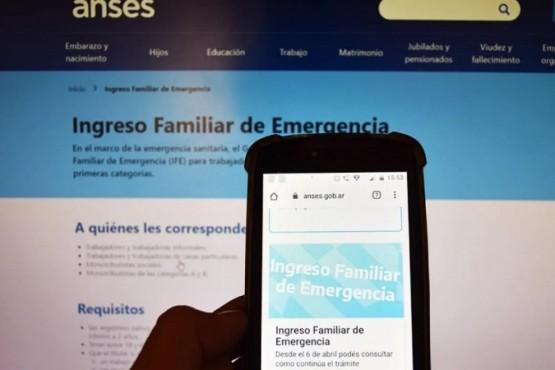 Últimos días para actualizar los datos y cobrar el Ingreso Familiar de Emergencia