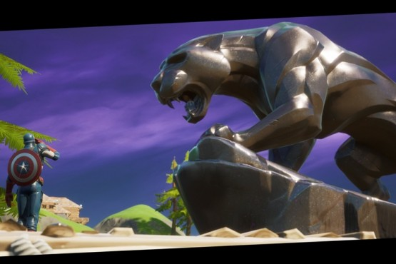 Fortnite sumó una estatua de Panter Negra en honor al actor Chadwick Boseman