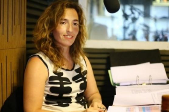 Diputada Rocío García.