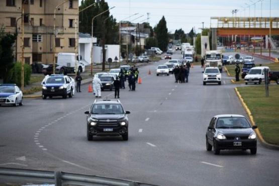 Controles exhaustivos de tránsito en la ciudad. (Foto archivo)
