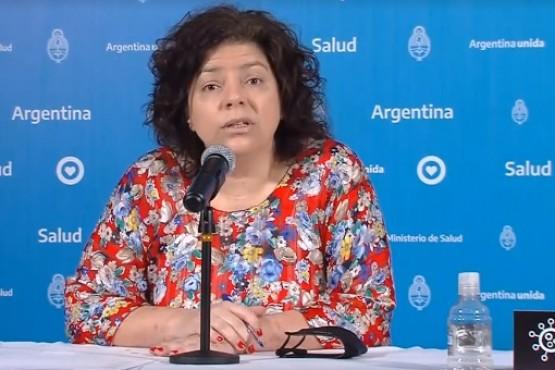 Secretaria de Acceso a la Salud, Carla Vizzotti.